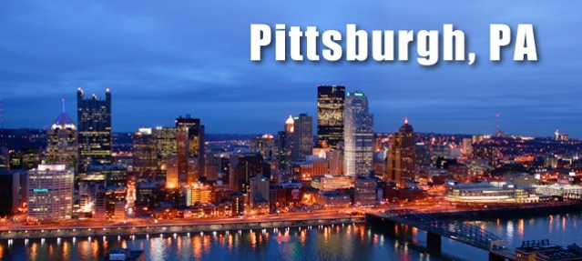 pittsburgh, pa - steel city