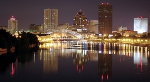 Rochester NY at Night