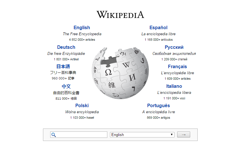 Wikipedia search engine optimization